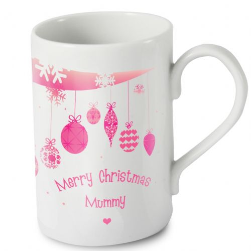 Personalised Christmas Bauble Windsor Mug